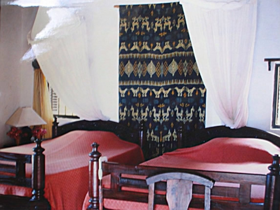 First floor bedroom Fishtrap House Lamu accommodation